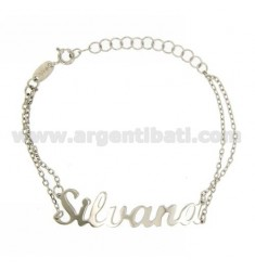 ROLO Armband &39CM 18 AS SILVANA Silber Rhodium TIT 925 ‰