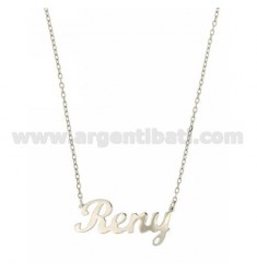 ROLO NECKLACE &39CM 45 AS RENY SILVER RHODIUM TIT 925 ‰