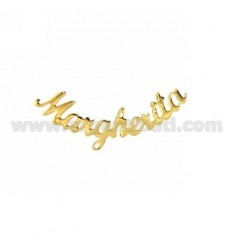 EARRING MONO LOBO DAISY SILVER GOLD PLATED TIT 925