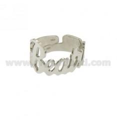 Ringpartie ADJUSTABLE BEATRICE Silber Rhodium TIT 925