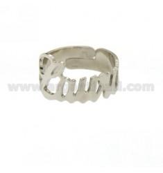 Ringpartie ADJUSTABLE LAURA Silber Rhodium TIT 925
