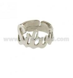 Ringpartie ADJUSTABLE SILVIA Silber Rhodium TIT 925