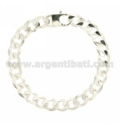 Curb BRACELET WITH SPECIAL CLOSURE 9 MM 20 CM IN SILVER 925 ‰