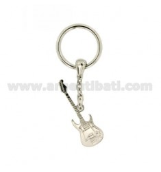 KEY RING ELECTRIC GUITAR IN AG TIT RODIATO 925 ‰