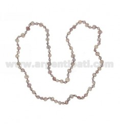 LACE LILAC PEARLS SCARAMAZZE 8.9 5.6 CM 90