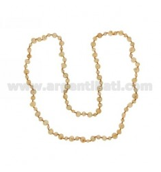 LACE GOLD PEARLS SCARAMAZZE 8.9 5.6 CM 90