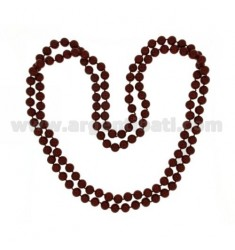 LACE CORAL RED PASTA 10 MM 160 CM