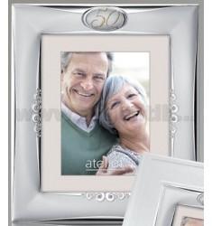 50 Jahre Goldrahmen 18X24 CM