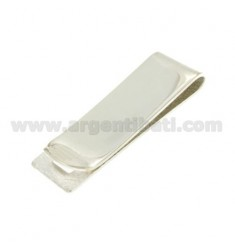 MONEY CLIPS 18X56 MM SMOOTH SILVER TIT 925 ‰