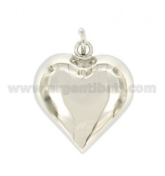 CALLED ANGELS HEART MM 34X31 SILVER RHODIUM TIT 800 ‰