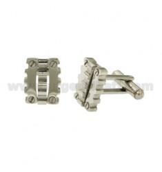 GEMINI rectangular de acero MM15X12