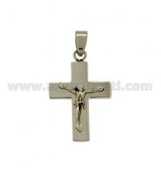 27x17 cruz colgante ALIVIO DE ACERO MM