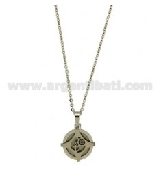 STILL IN STEEL PENDANT WITH CHAIN CABLE MM 20 CM 50