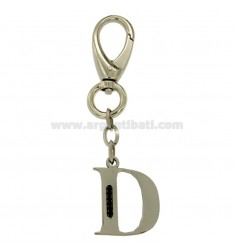KEY RING POINT STEEL 35 MM WITH BLACKS ZIRCONIA