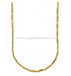 CHAIN STEEL SEGMENT 2 CM 50 MM GOLD PLATED