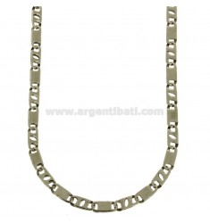 CHAIN IN STEEL PLATE MM 5 CM 60