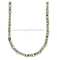 NECKLACE STEEL MESH SPECIAL CM 50