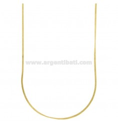CHAIN CABLE MM 1 50 CM STEEL GOLD PLATED