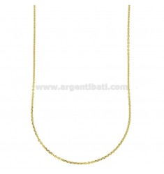 CHAIN CABLE MM 1 80 CM STEEL GOLD PLATED