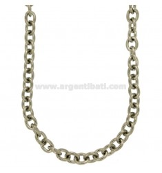 NECKLACE CABLE STEEL 50 MM 10X8 CM