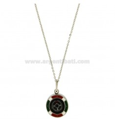 Pendant COMPASS MM18 STEEL CABLE WITH CHAIN 50 CM