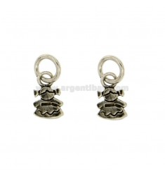 CHARM GIRL MM 16X9 PZ 2 SILVER BRUNITO TIT 800