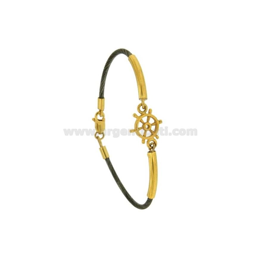 SEMI.RIGID Armband Draht 2 MM VERSILBERT rutenio TIT 925 ‰ PLATTEN ...