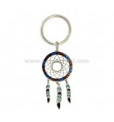 COLECTOR anillo de la llave plata del rodio 925 ‰ y colores clasificados POLACOS
