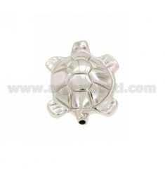 DISTANCE TURTLE 28x22 MM MM 2 LOCH IM AG TIT RHODIUM 925