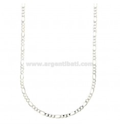 NECKLACE 3 1 EXTRA FLAT MM 3,4 CM 60 SILVER TIT 925 ‰