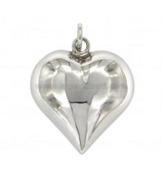 Anhänger ENGEL TALK TO HEART MM 32x30 Silber rhodiniert TIT 925 ‰