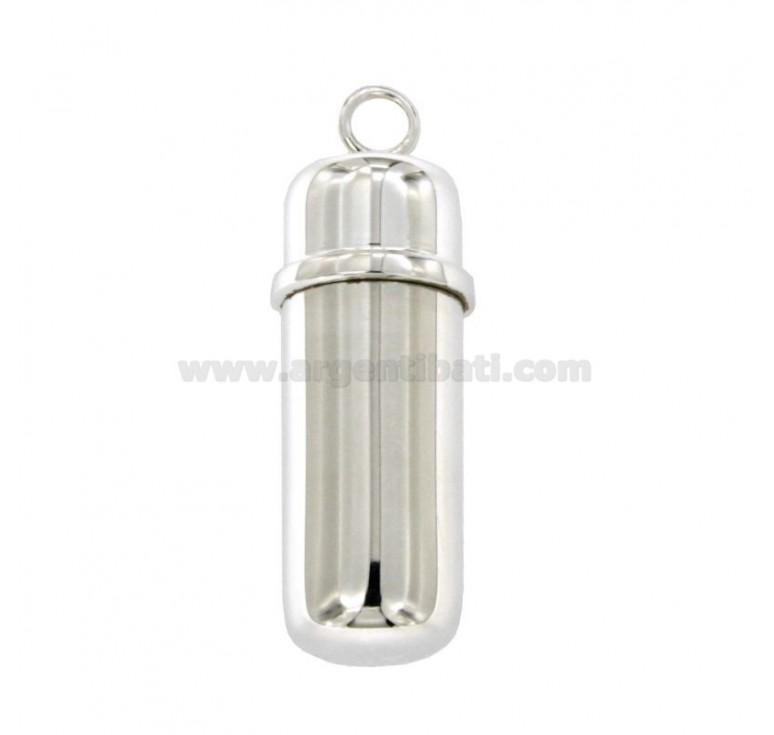Ciondolo porta ceneri a cilindro mm 37 diametro mm 13 in - Ciondolo porta ceneri ...