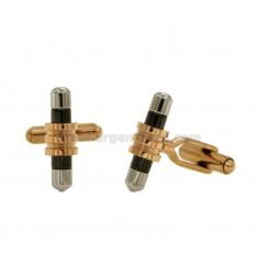 TWIN cilindro de acero TRICOLORE