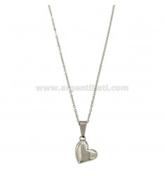 CM 45 FORZATINA NECKLACE WITH STEEL HEART
