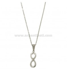 CM 45 FORZATINA NECKLACE WITH INFINITE STEEL
