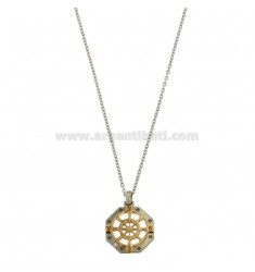OTTAGONAL PENCIL WITH TIMONE WITH CM 45-50 WHEEL STAINLESS STEEL CHAIN