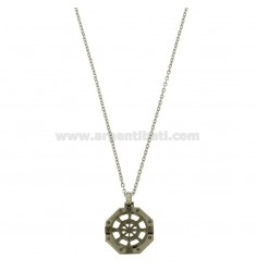 OTTAGONAL PENCIL WITH STAINLESS STEEL CM 45-50 CHAIN ??CHAIN