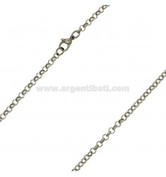 STAINLESS STEEL CHAINS MM 4 IN STEEL CM 60