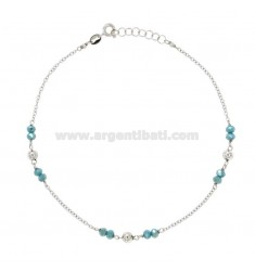 CAVIGER WITH SILVER STONES REDUCED TIT 925 ‰ CM 23 EXTENDABLE TO 26