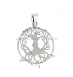 PINK PENDANT CELTIC LIFE MM 25 IN SILVER REDUCED TIT 925 ‰