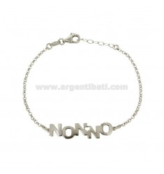 BRACELET ROLO 'WITH WRENCH IN SILVER REDUCED TIT 925 CM 18-20