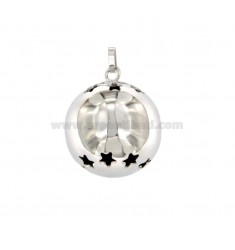 PENDENT CUTE ANGELS MM 19 WITH SILVER STAINLESS STEEL REDUCED TIT 925 ‰