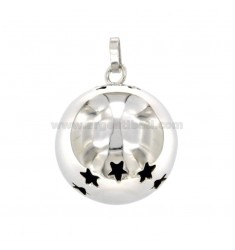 PENDANT CALLS ANGELS MM 23 WITH SILVER STAINLESS STEEL REDUCED TIT 925 ‰
