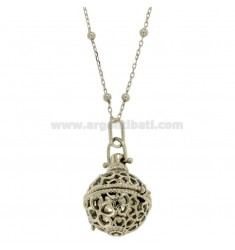 Pendant Pendant MM 24 SCREW WITH CHAIN ??CM 80 IN BRONZ RODIATO