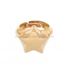 RING MIGNOLO STELLA COPATO IN SILVER 925 ‰ ADJUSTABLE MEASUREMENT