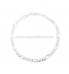ARMBAND SWEATER 3 1 MM 37X12 Silber 925 ‰ CM 20
