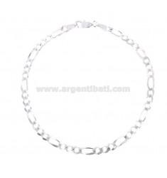 ARMBAND SWEATER 3 1 MM 44X152 Silber 925 ‰ CM 20