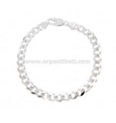 Armband SWEATER GRUMETTE MM 6.5X2 Silber 925 ‰ CM 20