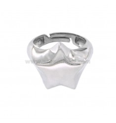 RING FROM MIGNOLO STELLA IN SILVER RHODIUM 925 ‰ SIZE ADJUSTABLE FROM 8
