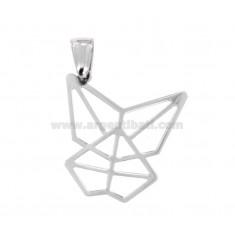 Anhänger Schmetterling ORIGAMI MM 25X25 Silber TIT 925 ‰
